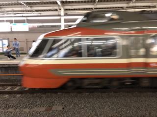 小田急ロマンスカーLSEはこね62号@新百合ヶ丘駅(3)